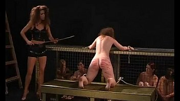 Nice movie of severe canings and caging