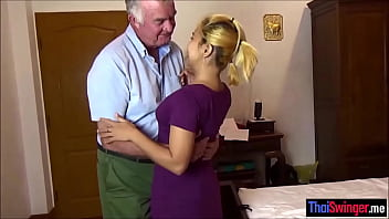 Amateur Thai wife gets a bondage fuck