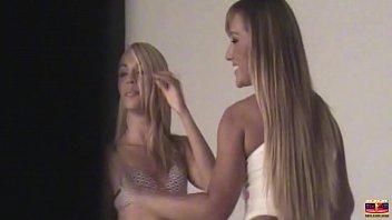 Bastidores proibido da primeira cena de Fernandinha Fernandez. Participação da sua