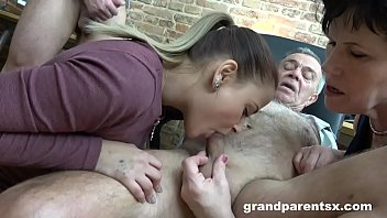 Senior Citizens Show Young Couple How to Fuck