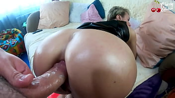 Amazing Bitch Gives Sloppy Blowjob To Lover And Ruthlessly Fucks Him In Anal