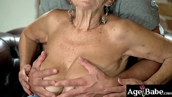 Rob and granny Malya's intimate fun