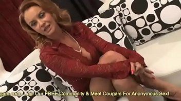 Sexy MILF Janet Mason Has Her Face Covered With Jizz From A Much y. Man