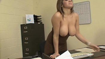Big Tit Latina Fucks In Office