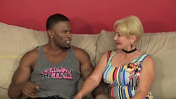 Seka interviews a Black Bull for Interracial Porn