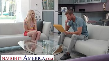 Naughty America - Nikki Sweet lands a job by letting the interviewer pound her