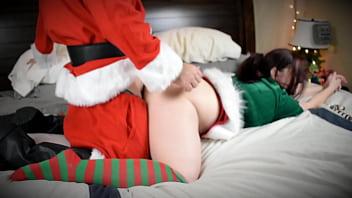 Thick ho ho ho gets a white Christmas