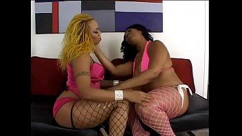 Black BBW licks her chubby friends wet pussy
