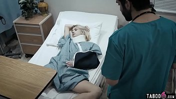 Young patient gets banged by her caring doctor
