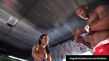 Watch Undisputed Cuban Sex Princess Angelina Castro takes on Nat Turnher & his Big Black Cock, in a caged fuck fight where Angelina squats on top of his massive ebony shaft, thrusting her plump pussy on his dick! She puts his BBC in her mouth & .... preview