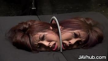 Busty Japanese woman fucked hard by multiple men