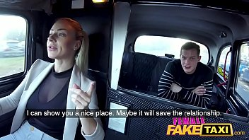 Female Fake Taxi Fit stud loves licking fingering and fucking hot czech pussy