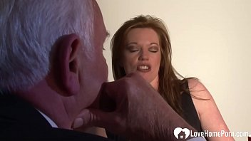 Once she gets him completely erect, she will ride his big black cock.