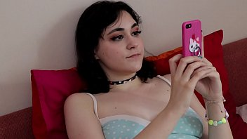 Stepsister did blowjob for her brother POV