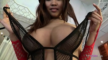 Asian girl with big boobs uncensored creampie sex