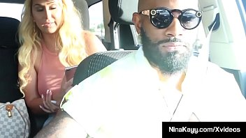 black lesbians binah amp kehinde fuck after taking a shower alta: Curvaceous babe nina kayy stuffs her plump pussy with a big black cock while taking a ride with her boober driver! full video & nina live @ ninakayy.com! Thumbnail