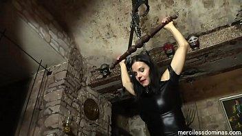 Painful Czech Trampling - Helpless Tiny Slave and Merciless Mistress