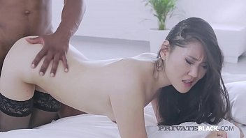 Asian Beauty, Katana, is drenched in cum after getting fucked by a big black cock in this hot interracial fuck clip! Full Flick at PrivateBlack.com!