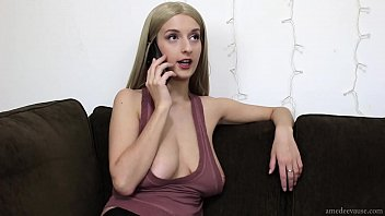 Unfaithful Nymph-Wife Ep2 (trailer) - Special Delivery (cuckolding by phone, deepthroat & boobies) - AmedeeVause