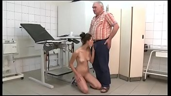 Watch Old doctor fucks the young patient preview