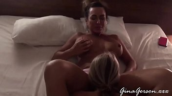 Gina Gerson threesome with MILF