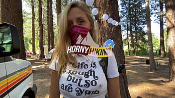 Amateur Hiker With Perfect Big Ass Fuck in Forest - Molly Pills - Outdoor Adventure Porn POV