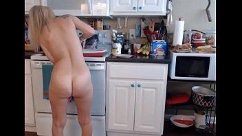Perfect Blonde Milf Cooking Naked Kitchen Voyeur - hot milf mature cougar cougars amateurs amateur video amateur sex video real amateur porn hot naked girl hot naked women