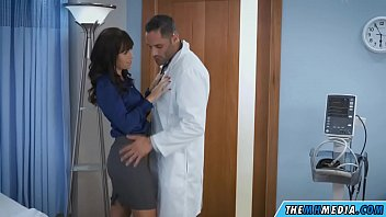 busty milf has a doctor checking