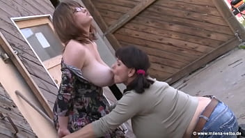 Do you like milk and huge boobs, so watch this