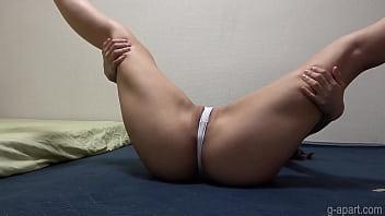 Miu Akemi G-string Wedgie