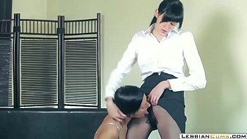 Lesbian Boss Hardcore Fucking in Office ⇨ LesbianCUMS.com