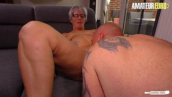 AMATEUR EURO - Naughty Mature Wife Brigitte T. Has Hot Sex With Her BFF