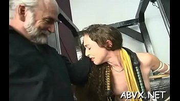 Intensive bondage with aged