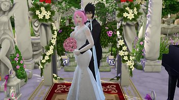 Sakura's Wedding Part 1 Naruto Hentai Netorare Wife Cheated Wedding Tricked Husband Cuckold Anime