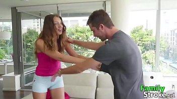Naughty Bro and Sister Play For Sex