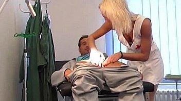Naughty Nurse's Cock Examination
