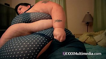 SSBBW With Big Belly Is Bursting At The Seams
