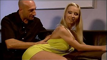 Hot blonde invited to dinner and buggered