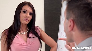 Anal Inspectors Get To See Stunner Kitana Lure's Asshole Fucked Balls Deep At Office