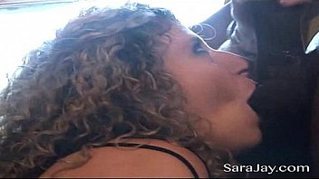 BBC slut Sara Jay gets her wet pussy fucked and filled with a hung black guys cum! Exclusive cream pie video from SaraJay.com