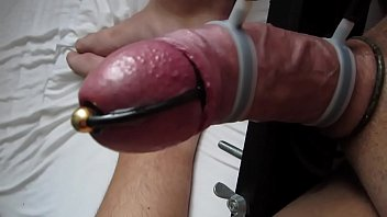 Dancing Cock Contractions with Erostek Electro Sex Toy Thumbnail