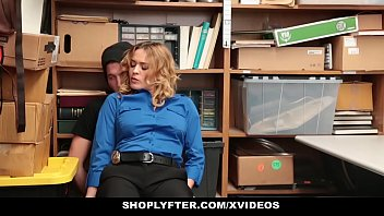 Shoplyfter - Horny LP Officer (KrissyLynn) Fucks Male Suspect