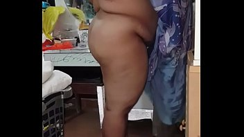 Chubby Indian Aunty Gets Ready for Boss
