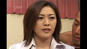 Japanese wife cheats with a bastard after blackmail