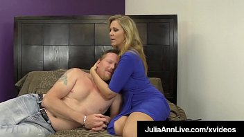 You cannot cum! Busty Cougar Julia Ann, gives amazing Jerk Off instructions, but not letting you cum, because you are a loser, pathetic bitch! Full Video & Julia Live @ JuliaAnnLive.com!