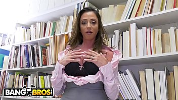 Watch BANGBROS - Juan El Caballo Loco Uses His Big Dick To Pass Ariella Ferrera's Class preview