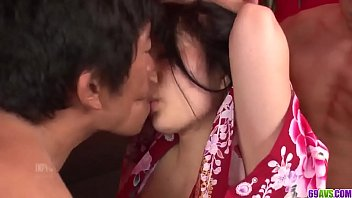 Hot japan girl Chiharu fuck at home