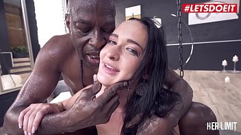 LETSDOEIT - Amazing Euro Brunette Sasha Sparrow Tests Her Anal Limits With Huge Cock