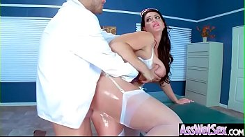 Big Butt Girl (Alison Tyler) Get Oiled And Deep Anal Nailed On Cam video-05