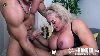 UK Big Tits Blond Busty Milf REBECCA JANE SMYTH Hookup with German Random Guy in London - Get a DATE on DATERANGER.com! NOW!